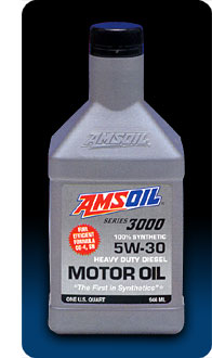 Series 3000 5w 30 heavy duty synthetic diesel oil for Amsoil 5w30 signature series 100 synthetic motor oil